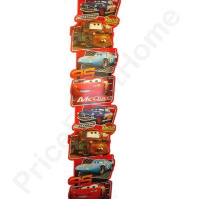 Disney Cars Multi Border Wall Sticker