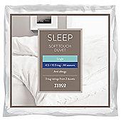 Anti-Allergy All Seasons Soft Touch 4.5/10.5 Tog Single Duvet