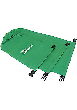 Yellowstone Polyester 3 Dry Sacks Green 2 / 4 / 8 litres