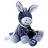 Nattou Alex And Bibou- Mini Musical Alex The Donkey Soft Toy