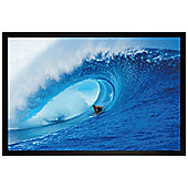 Black Wooden Framed Riding The Wave Poster 61x91.5cm