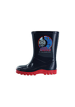 Boys Thomas The Tank & Friends Blue Wellies Wellington Boots UK Sizes Child 4 - 10 - Blue