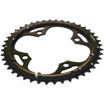 Stronglight 4-Arm/104mm Chainring: 32T.