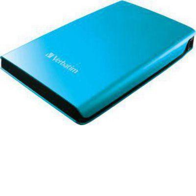 Verbatim Store 'n' Go 53026 500 GB External Hard Drive, Caribbean Blue, USB 3.0, 5400 rpm, 8 MB Buffer, 2.5