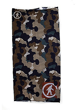 Arctic Yowie Neck Gaiter With Fleece Camo Beige - Outdoor Tech