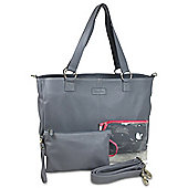 Mia Tui Emma Baby Changing Bag/Pram Bag - Dark Grey