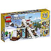 LEGO Creator Modular Winter Vacation 31080