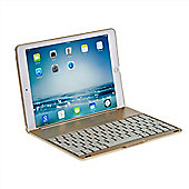 iPad Air 2 Clamshell Bluetooth Keyboard Case in Gold