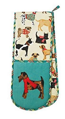 Ulster Weavers Hound Dog Design Double Oven Glove 7HOD03
