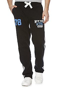 F&F New York Open Hem Joggers - Black