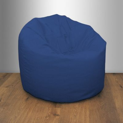 Blue Splashproof Bean Bag Chair Indoor Outdoor Beanbag Seat Garden Furniture