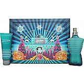 Jean Paul Gaultier Le Male Gift Set 125ml EDT + 75ml All Over Shower Gel (Christmas Edition) For Men