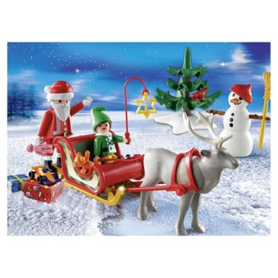 Playmobil Carrying Case Santas Sleigh