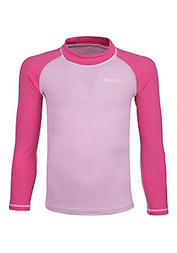 Mountain Warehouse Kids Long Sleeved Rash Vest ( Size: 13-14 yrs )
