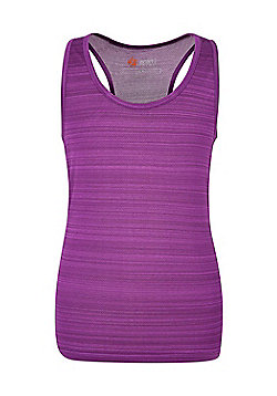 Mountain Warehouse ENDURANCE STRIPE VEST GIRLS - Purple