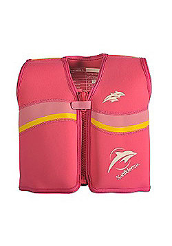 Konfidence Float Jacket Fuchsia Pink 6 to 7 Years