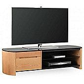 Alphason FW1350CB Oak Veneer TV Stand