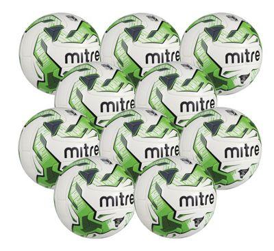 Mitre Monde Match Footballs, 10 Pack, Size 5