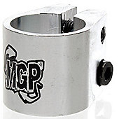 Madd Gear MGP Double Collar Scooter Clamp - Silver