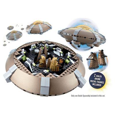 Character Building Doctor Who Dalek Spaceship Set