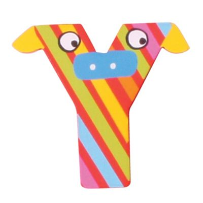 Tatiri Crazy Animals Letter Y (Red/Yellow Cow)