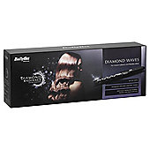 BaByliss 2309BDU Diamond Radiance Waves Hair Curling Wand, 25mm Barrel - Black
