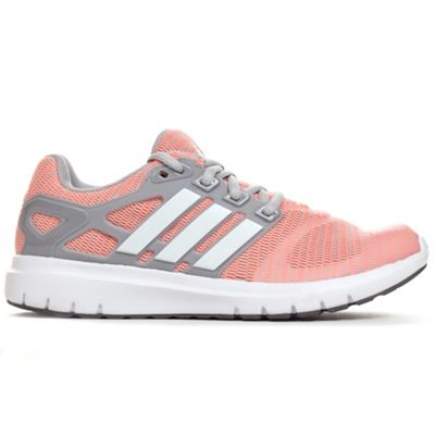 adidas Energy Cloud V Womens Running Trainer Shoe Pink/Grey - UK 6