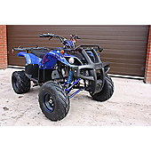 Quad Bike - 150cc Quad - Blue - Hawkmoto Tomahawk