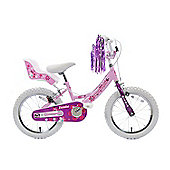 "Professional Izzie 16"" Wheel Bike Dolly Seat Pink Bike"