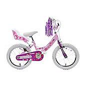"Professional Izzie 16"" Wheel Bike Dolly Seat Pink Bike"