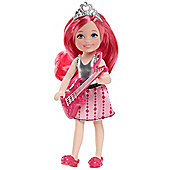 Barbie Rock and Royals Doll Chelsea with Guitar