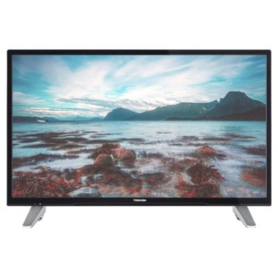 Toshiba 32D3653DB 32 Inch Smart WiFi Built In HD Ready 720p DVD Combi LED TV with Freeview Play