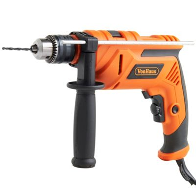 710W Impact Drill with Accessory Set