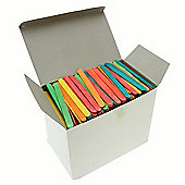 Lollipop Sticks - Assorted Colours 1000 Pk