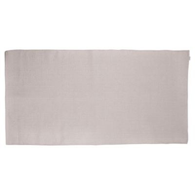 Tesco Value Cotton Rug, 80 x 150cm, Cream
