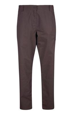 Mountain Warehouse Trek Womens Short Length Trousers ( Size: 6 )
