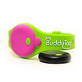 Buddy Tag Child Tracking Device Wristband - Green Silicone