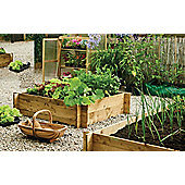 Heavy Duty Wooden Raised Bed
