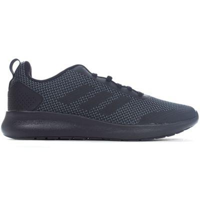 adidas Cloudfoam Element Race Mens Fashion Trainer Shoe Black/Black - UK 7