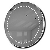Mirage Ultra-Slim LED Bathroom Illuminated Mirror With Demister Pad & Sensor k15