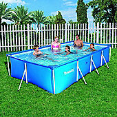 "Family Splash Frame Pool & 330 Gallon Pump -157""x83""x32"""