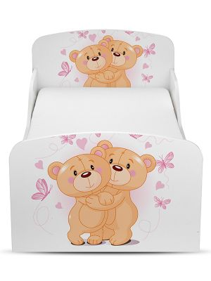 PriceRightHome Teddy Bear Toddler Bed