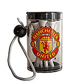 Manchester United F.C Official Golf Tee Shaker With Tees
