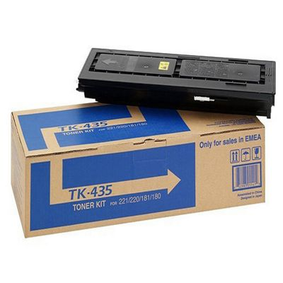 Kyocera TK-435 Black (Yield 15,000 Pages) Toner Cartridge for TaskAlfa 180/181/220 Printers