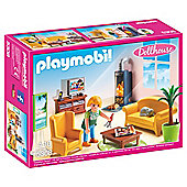 Playmobil 5308 Living Room With Fireplace Dolls House