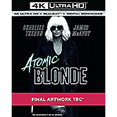 Atomic Blonde 4K Blu-Ray 2Disc