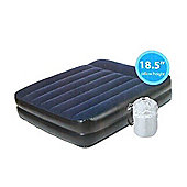 Nordic Peak Deluxe Raised Queen size Airbed with built in electric pump Camping