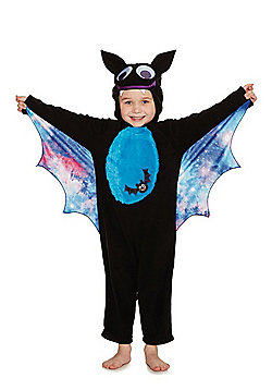 F&F Bat Halloween Costume - Black