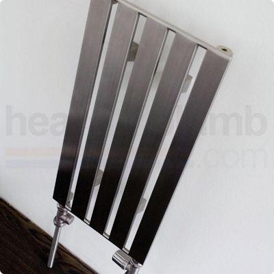 Aeon Supra Stainless Steel Designer Vertical Radiator 2000mm High x 205mm Wide - Single Panel