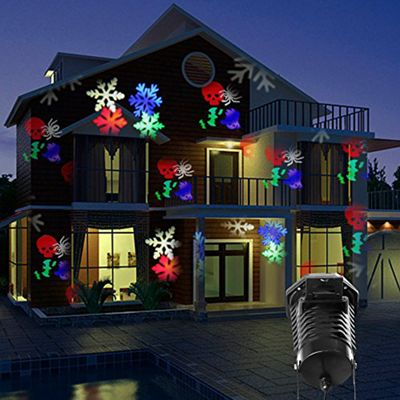 Global Illumination 10 Pattern outdoor LED Projector Light Christmas Xmas  Halloween Party - Buy Global Illumination 10 Pattern Outdoor LED Projector Light